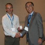 (L-R) Eric McInnes, Hitoshi Ohta